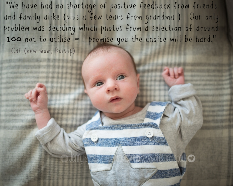 testimonial for baby photographer