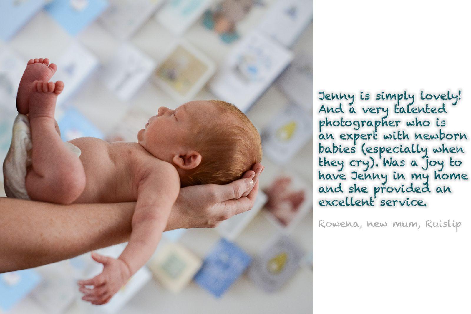 Newborn at home testimonial