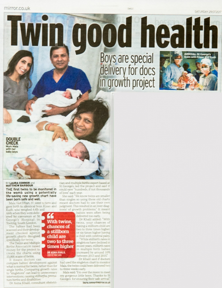 Published in the mirror