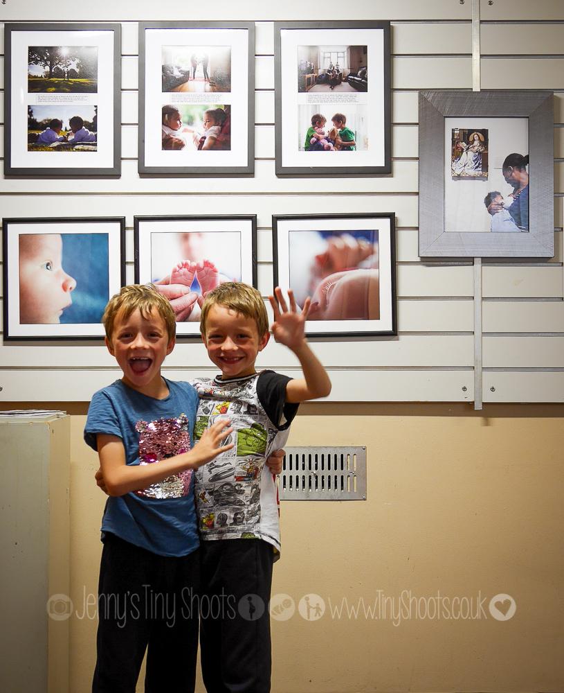 Jenny Burrows exhibition in Ruislip